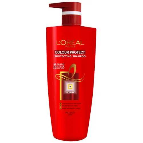 Loreal Paris Color Protect Shampoo, 640 ml (With 10% Extra)