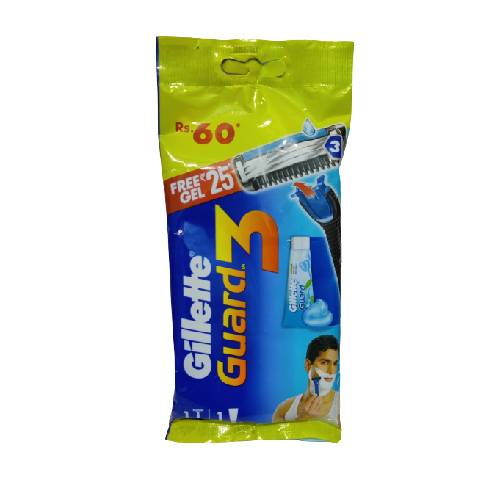gillette-guard-3-shaving-cream-with-free-gel